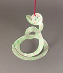 Whirly Curly Snake craft