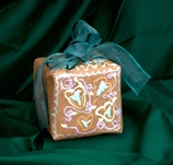 Lacy Gift Wrap craft
