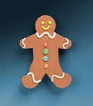 Gingerbread Magnet craft