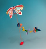 Brilliant Butterfly Kite craft