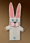 Fluffy Bunny Puppet craft