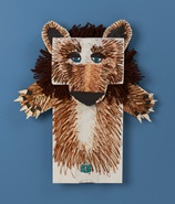 Fast & Furry Bear Puppets craft