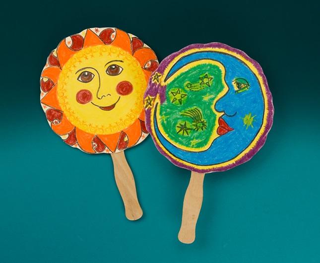 Sun And Moon Myth Fan Crayola Com Au