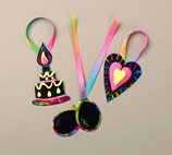 Bursts of Neon Gift Tags craft