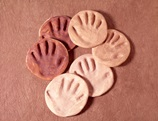 Watch Me Grow Handprints craft