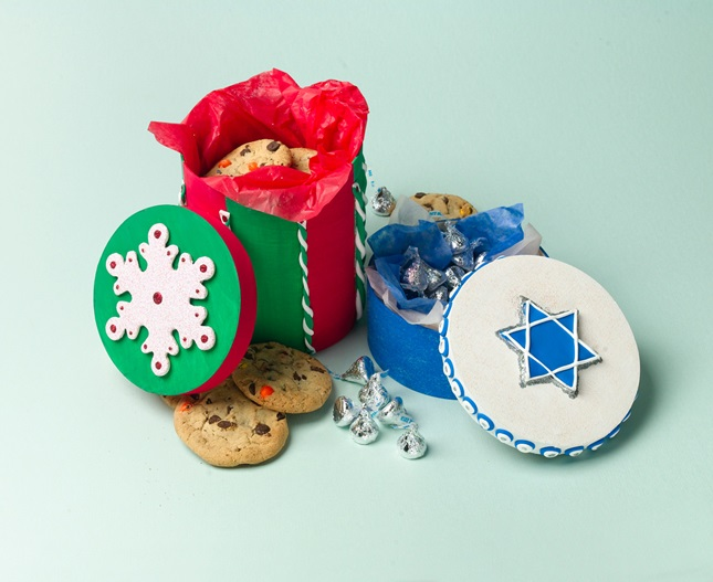 Gorgeous Holiday Gift Boxes craft