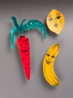 Healthy Food Faces craft