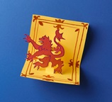 Royal Lion Pop-Out Card craft