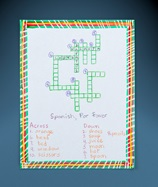 Bilingual Crossword Puzzle lesson plan
