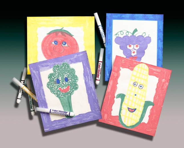 Smile! With Fresh Fruits & Veggies lesson plan