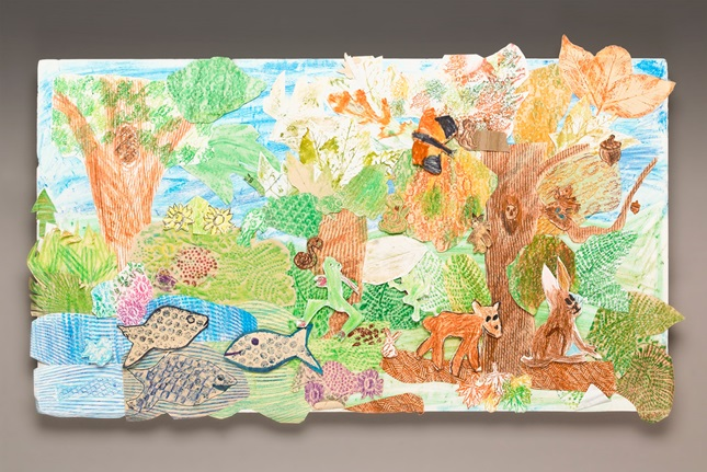 Pop-Up Wildlife Mural lesson plan