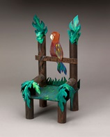 Perched Parrot Decorative Chair lesson plan