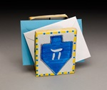 Dreidel Card Holder lesson plan