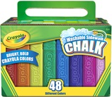 48 Washable Sidewalk Chalk Sticks