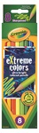 8 eXtreme Colored Pencils