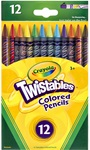 12 Twistables Colored Pencils