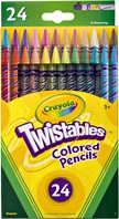 24 Twistables Colored Pencils