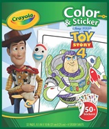 Color & Sticker Toy Story 4