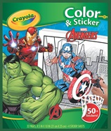 Color & Sticker Marvel Avengers