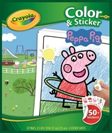 Color & Sticker Peppa Pig