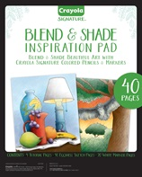 Signature Blend and Shade Inspiration Pad