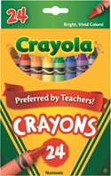 24 Regular Crayons