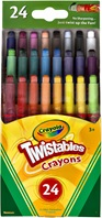 24 Mini Twistables Crayons