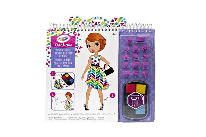 Creations Fashion Design Set Crayola Com Au