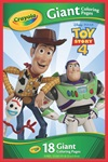 Giant Coloring Pages Toy Story 4