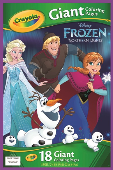 Giant Coloring Pages Frozen