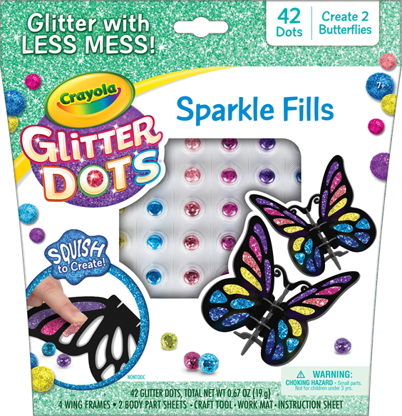 Sparkle Fills Butterfly