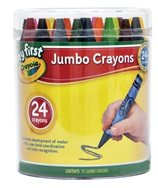 24 My First Jumbo Crayons