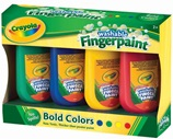4 Washable Fingerpaints