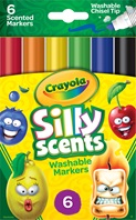 6 Silly Scents Markers