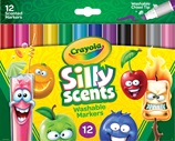 12 Silly Scents Scented Markers