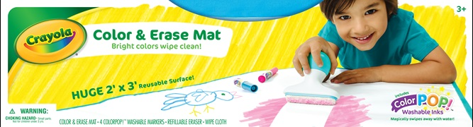 Color and Erase Mat