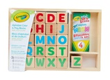 Alphabet color and play blocks