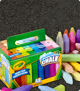 Sidewalk chalk small tout