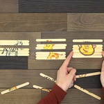 Popsicle Stick Animal Puzzle