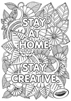 Stay at Home Creativity Flowers