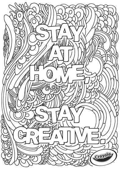 Stay at Home Creativity Waves