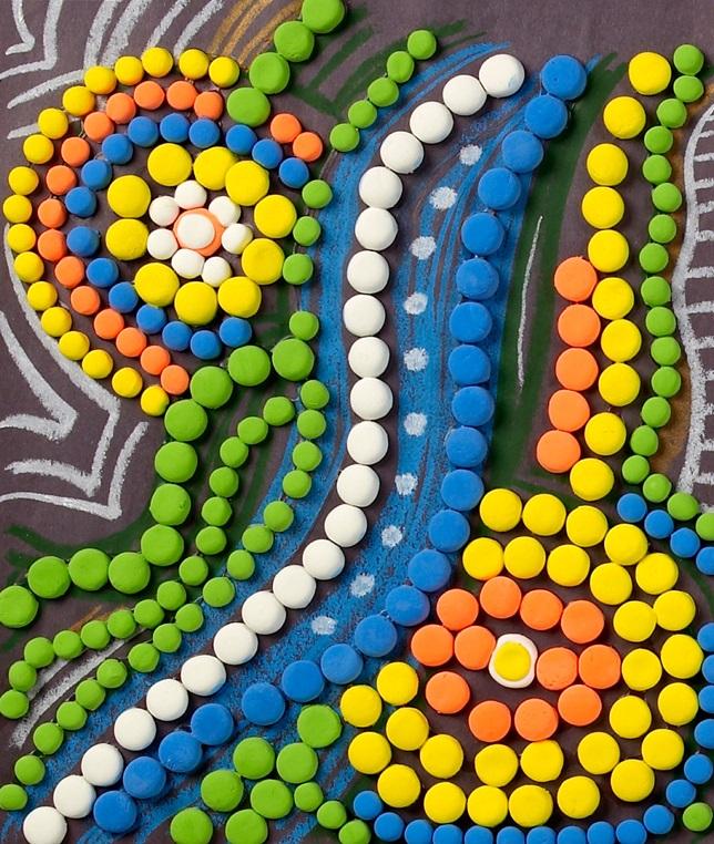 Aboriginal Art Crayolacomau
