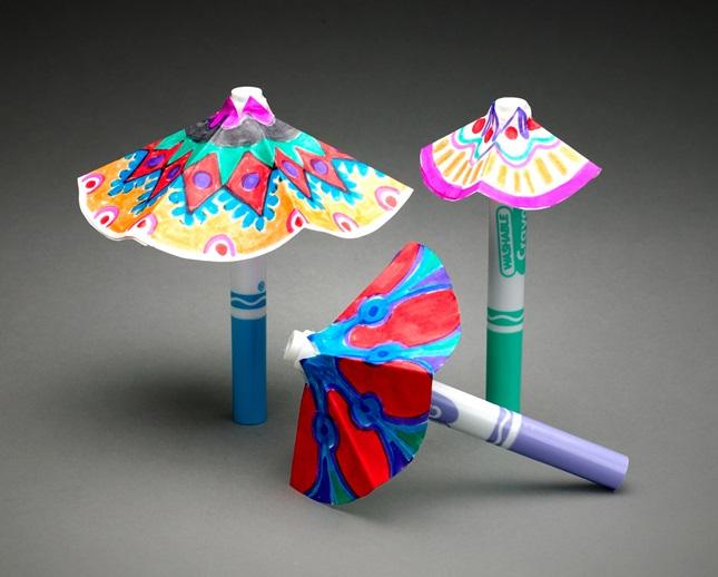 Зонтик. поделка