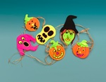 Hauntingly Boo-tiful Halloween Garland craft