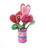 Bunches of Love Heart Bouquet craft