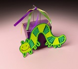 Inchworm Party Treat Box craft