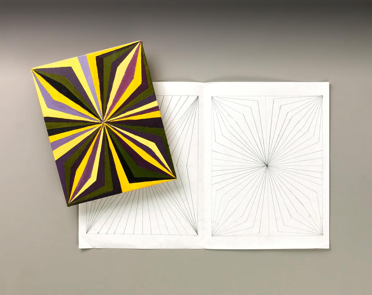 Op Art Line Design Lesson : Eye popping op art crayola