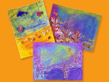 Ocean Coral Drawings Ocean Scenes And Coral Reefs