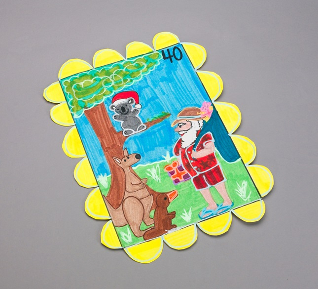Australian Christmas Stamps lesson plan
