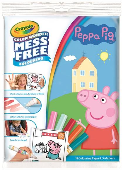 Color Wonder Peppa Pig | crayola.com.au